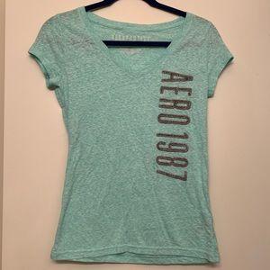 Mint Aeropostale Shirt